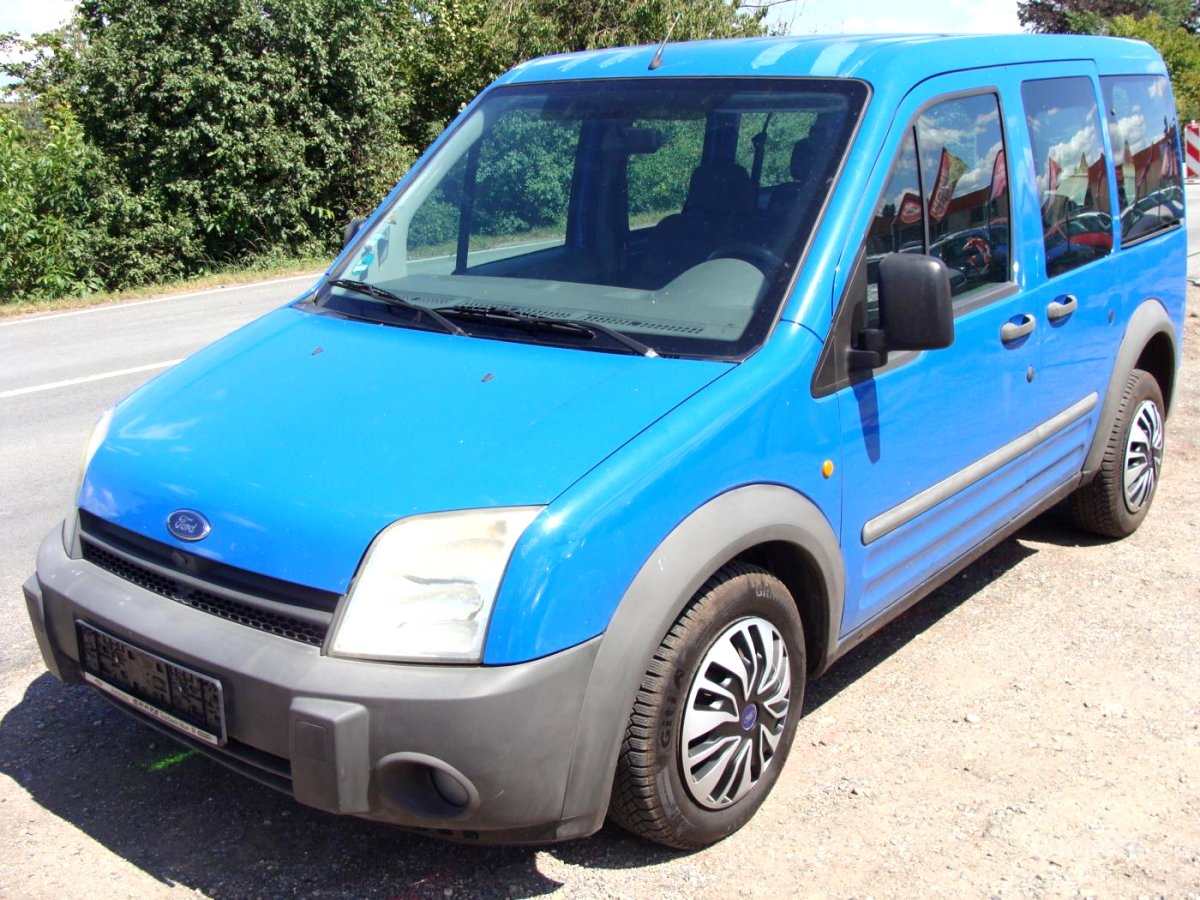Ford Tourneo Connect, 2003 - celkový pohled