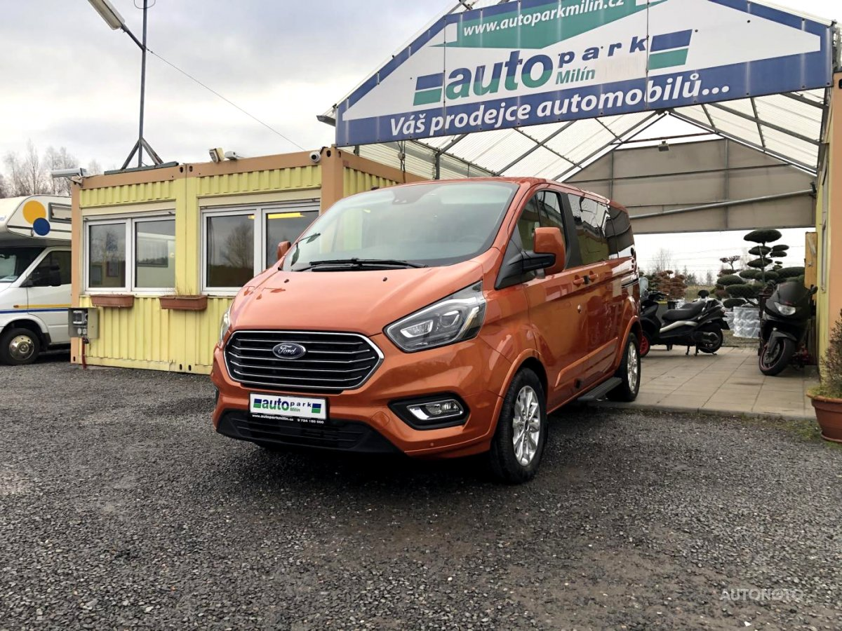 Ford Tourneo Custom, 2019 - celkový pohled