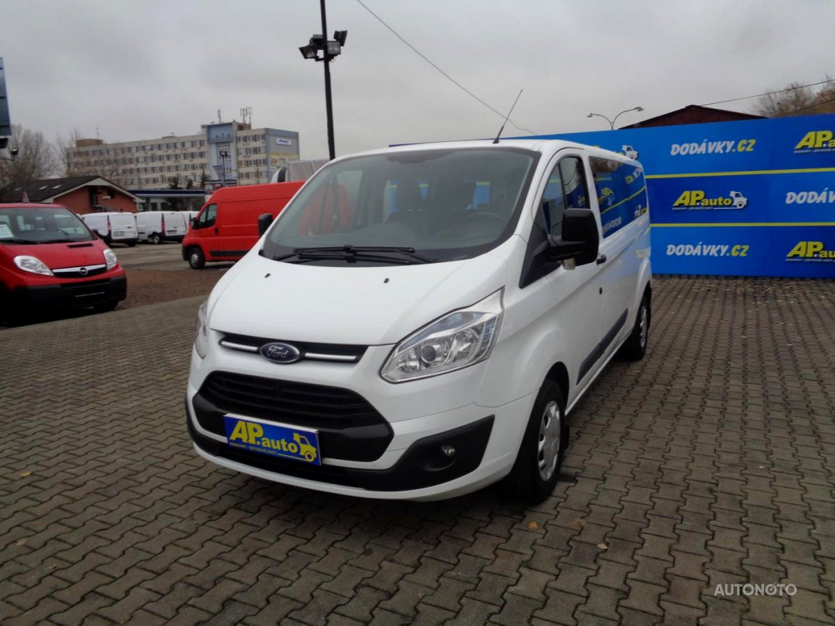 Ford Transit Custom, 2015 - celkový pohled