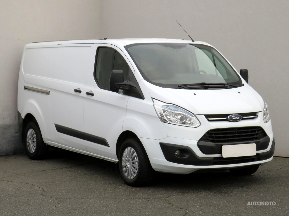 Ford Transit Custom, 2013 - celkový pohled