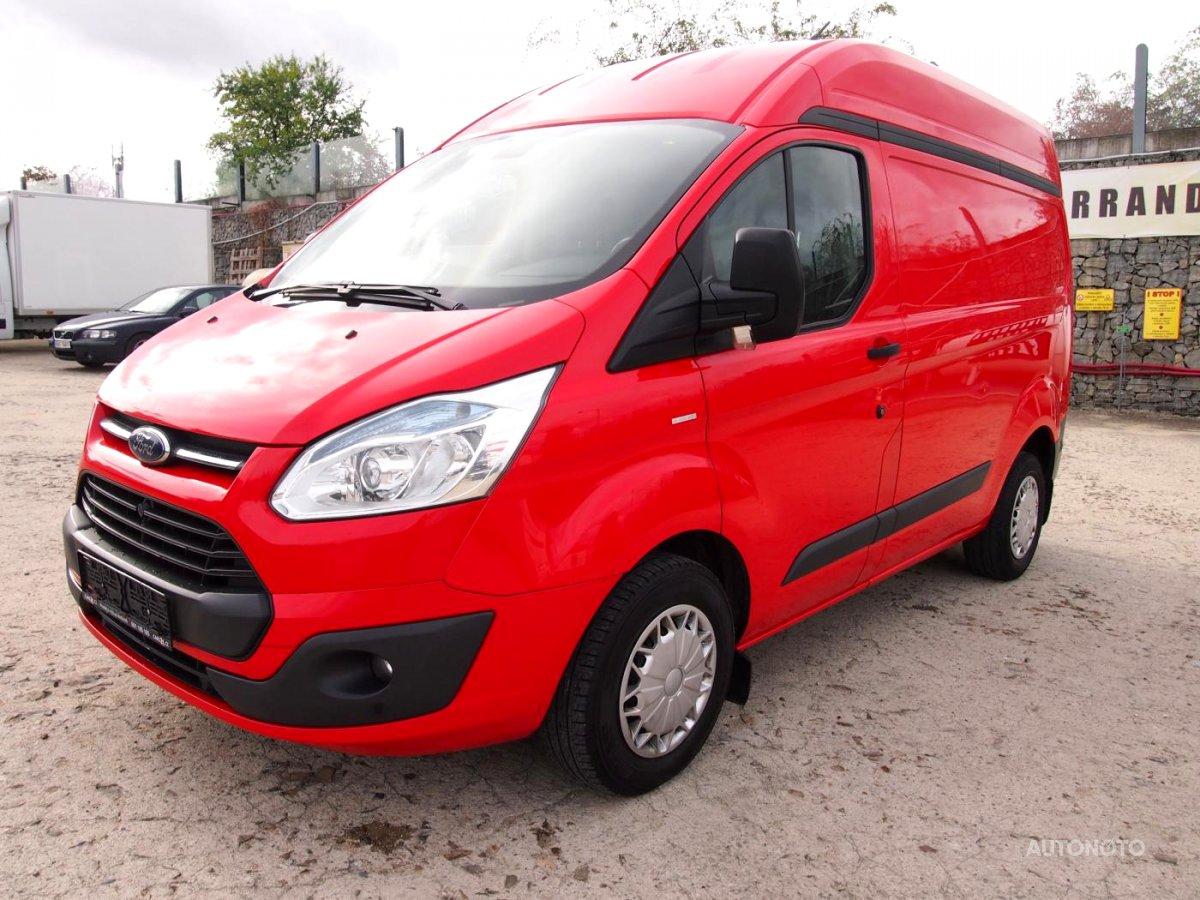 Ford Transit Custom, 2014 - celkový pohled