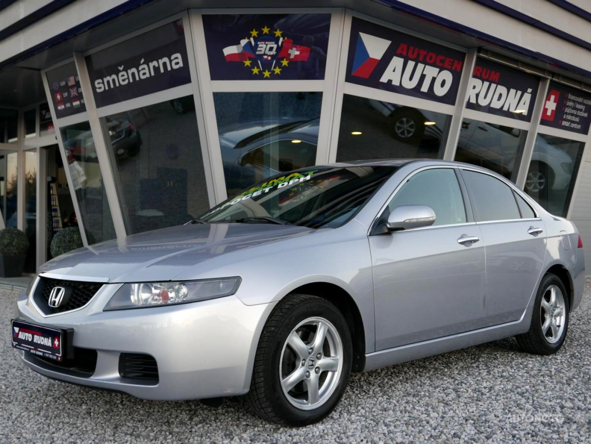 Honda Accord, 2003 - celkový pohled