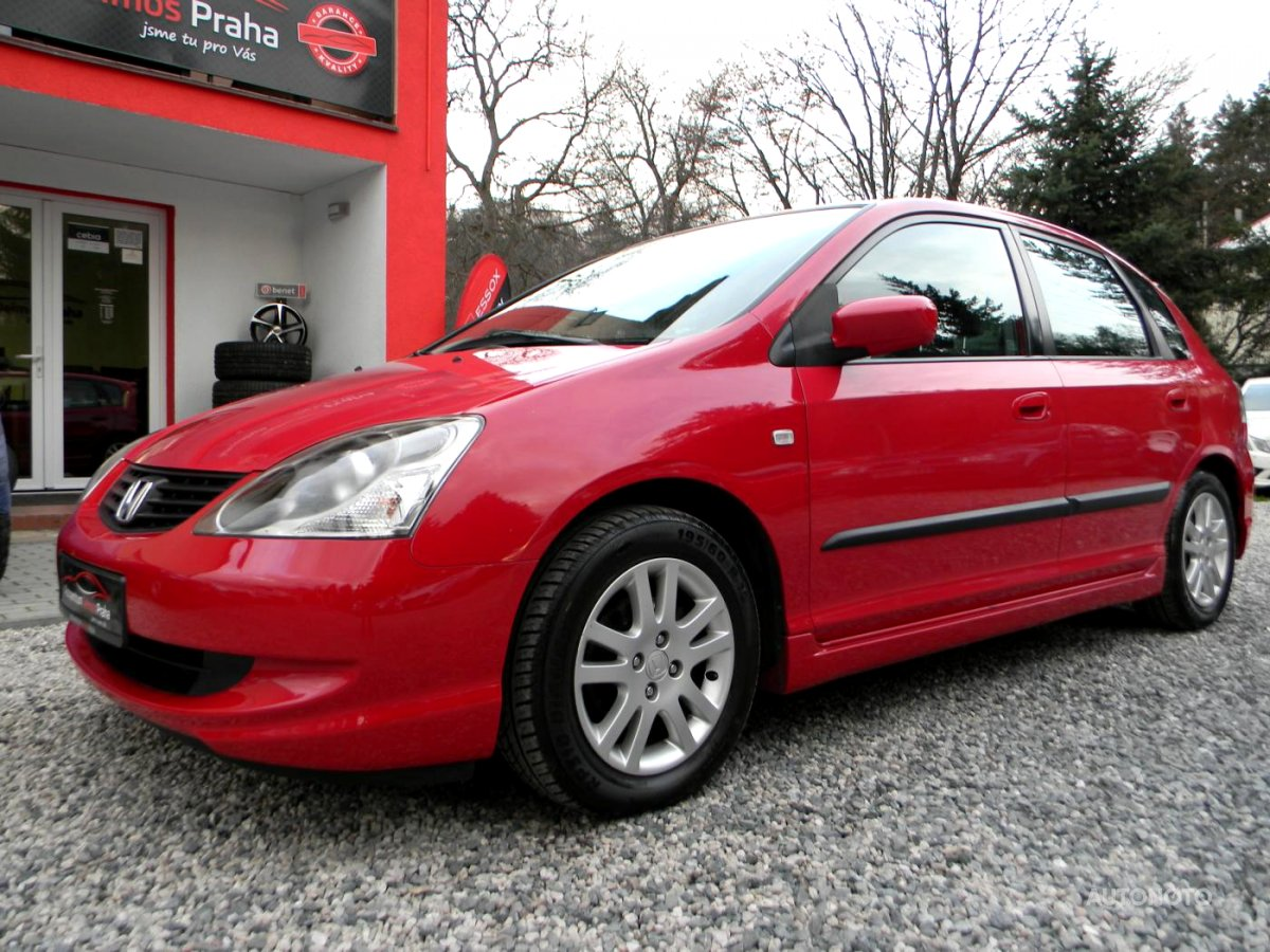 Honda Civic, 2005 - celkový pohled