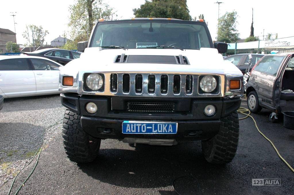 Hummer H2, 2003 - celkový pohled