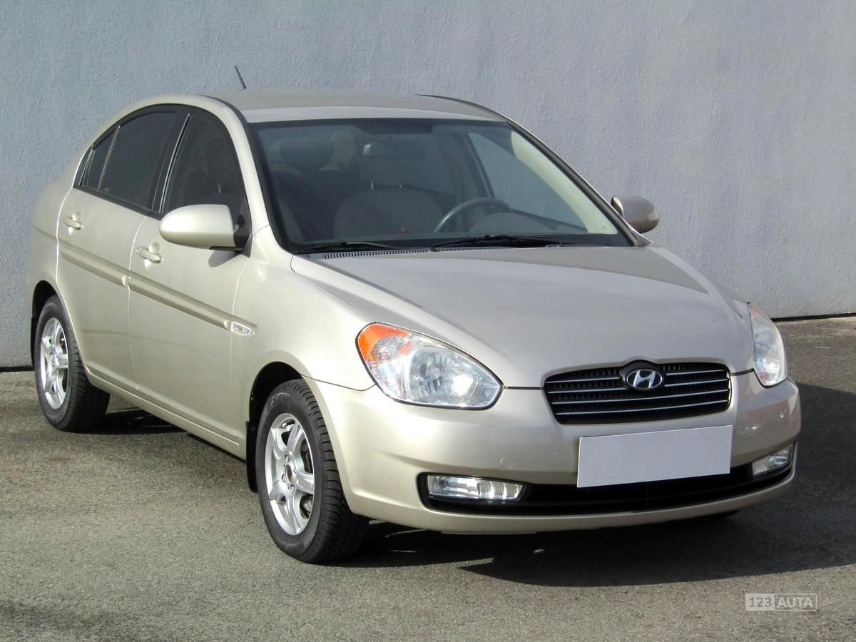 Hyundai Accent, 2008 - celkový pohled