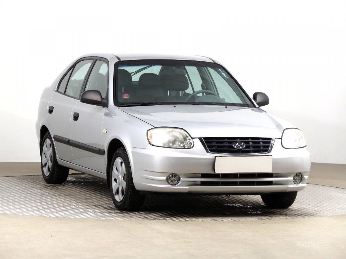 Hyundai Accent, 2005 - celkový pohled