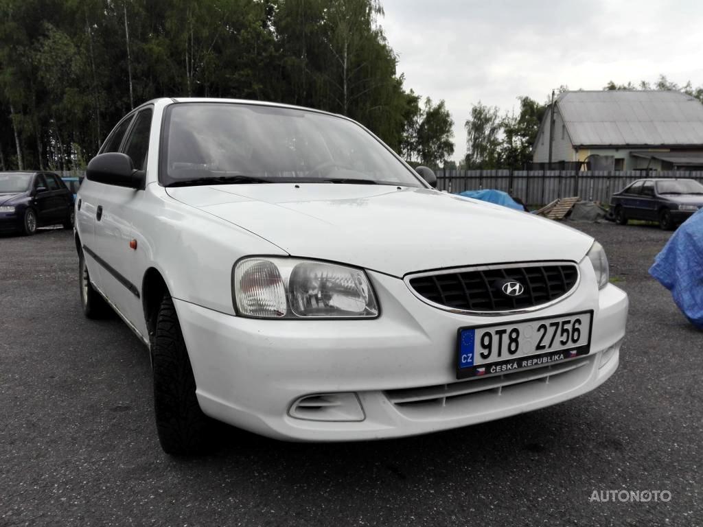 Hyundai Accent, 2002 - celkový pohled