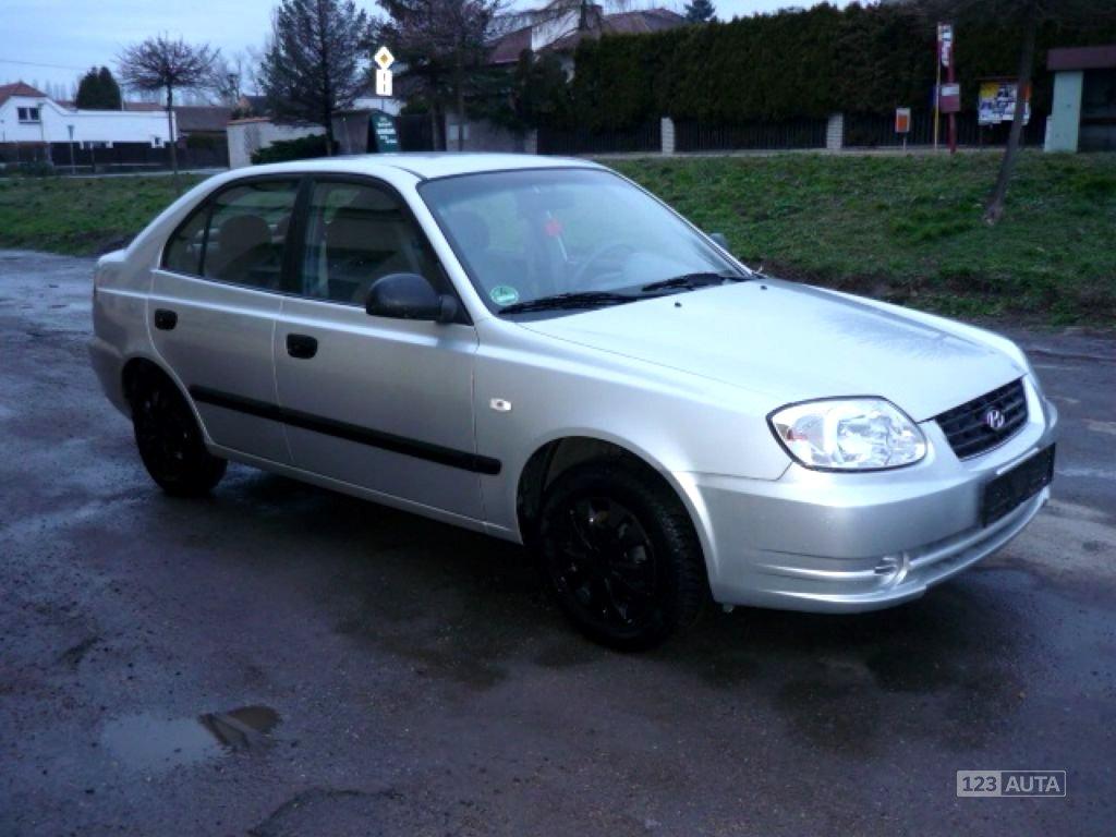 Hyundai Accent, 2004 - celkový pohled