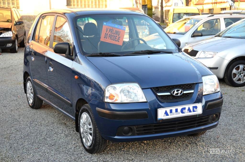 Hyundai Atos, 2008 - celkový pohled