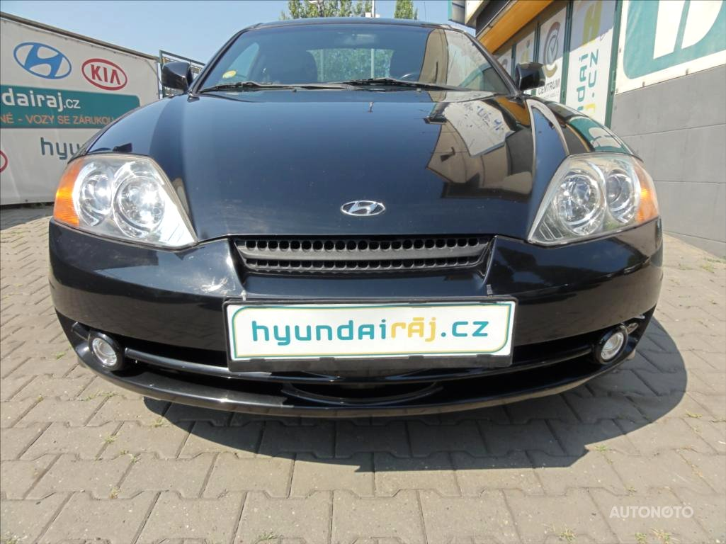 Hyundai Coupé, 2002 - celkový pohled