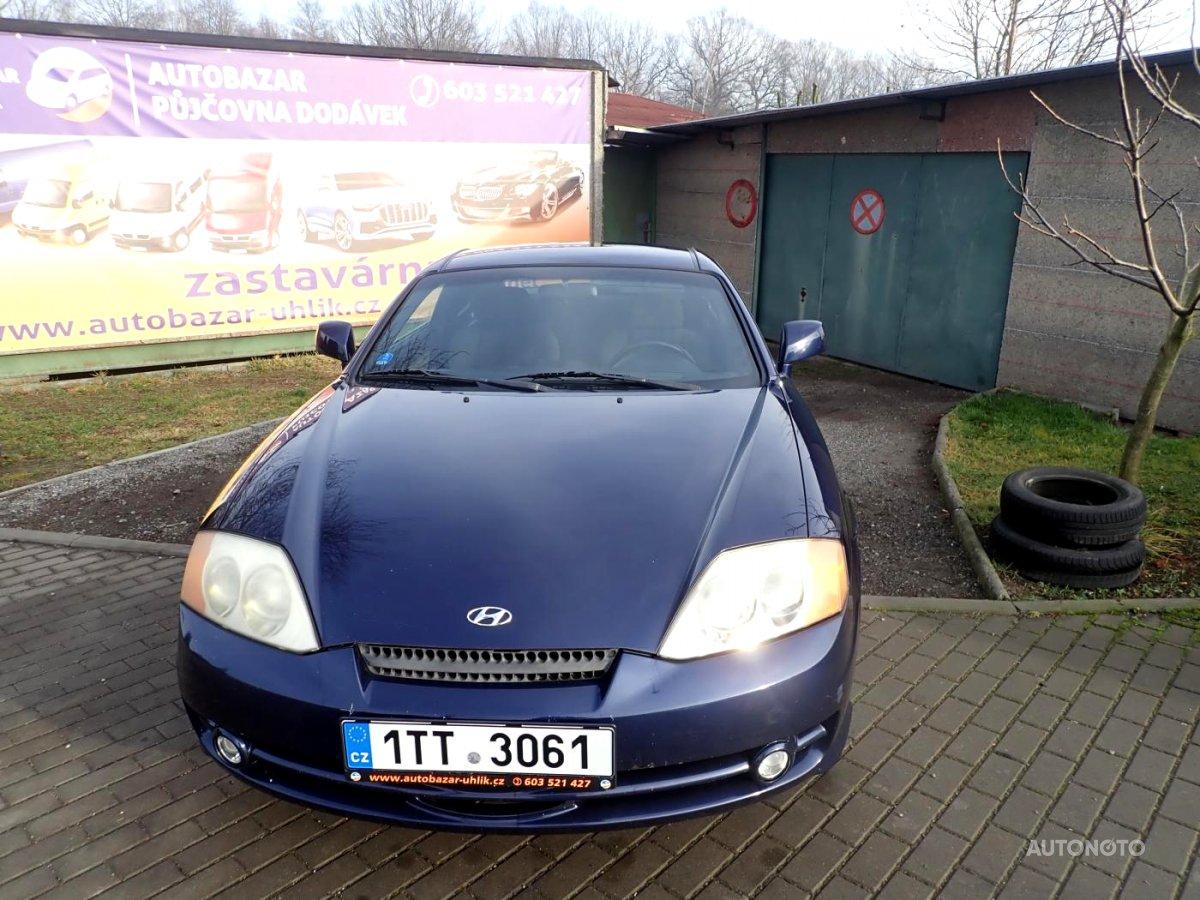 Hyundai Coupé, 2004 - celkový pohled