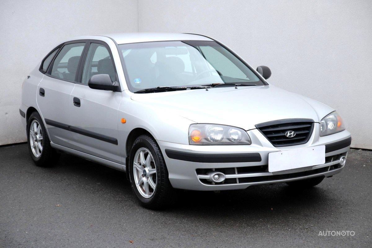 Hyundai Elantra, 2006 - celkový pohled
