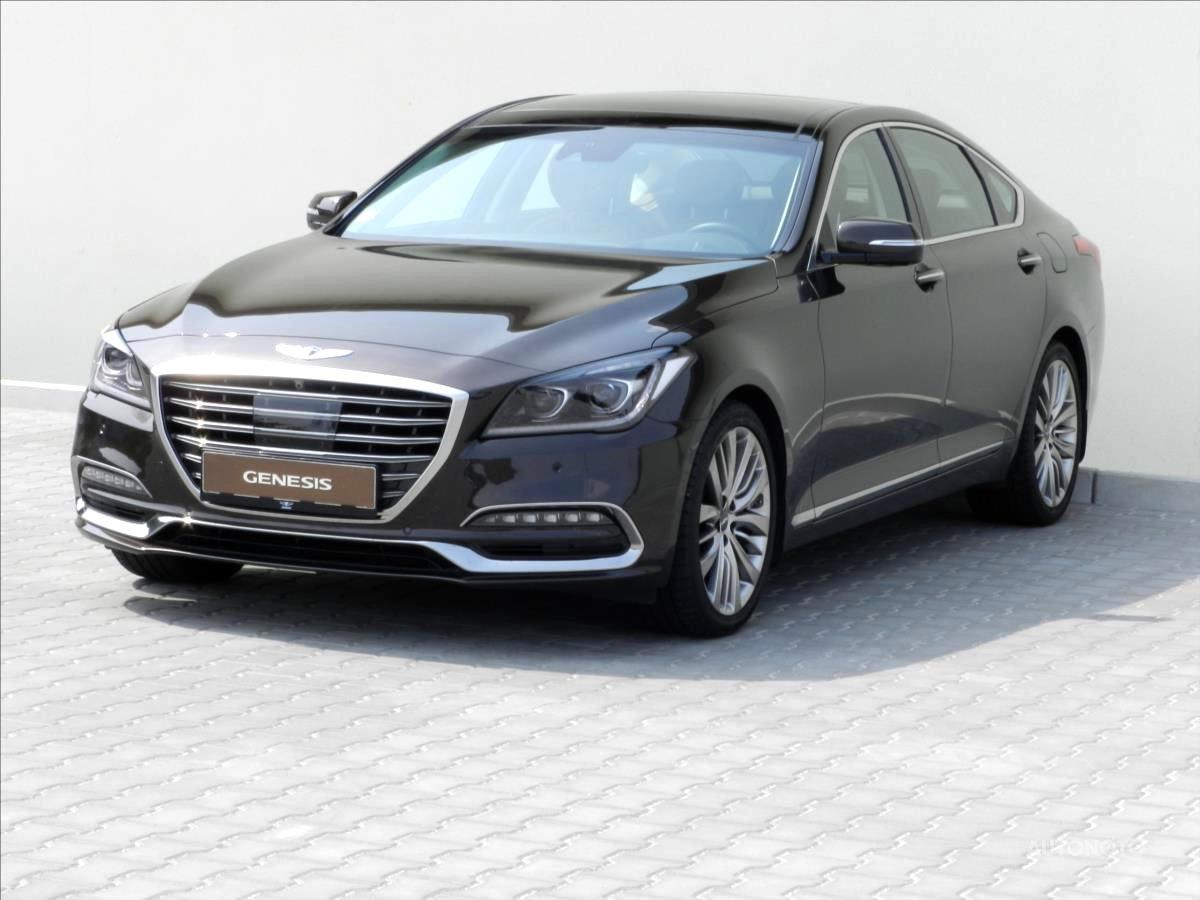 Hyundai Genesis, 2017 - celkový pohled