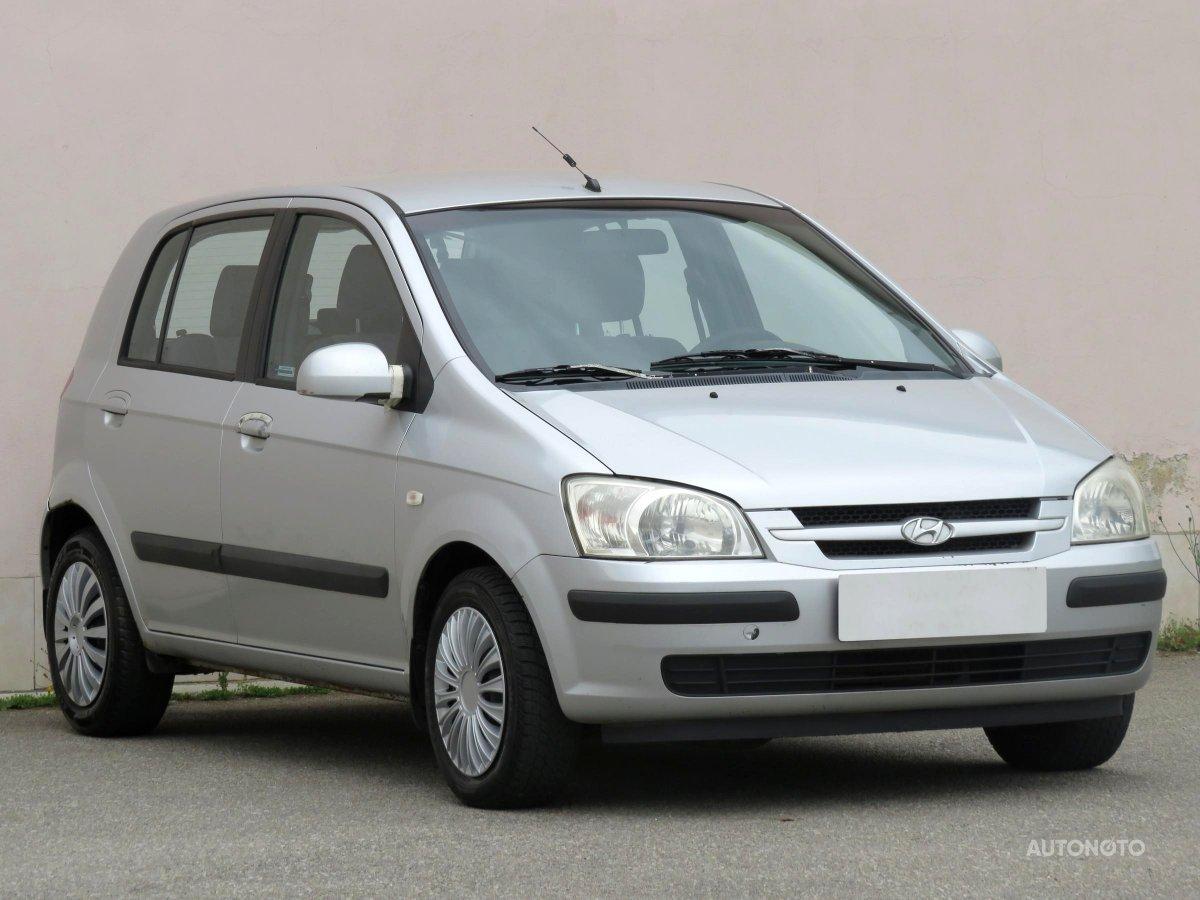 Hyundai Getz, 2002 - celkový pohled