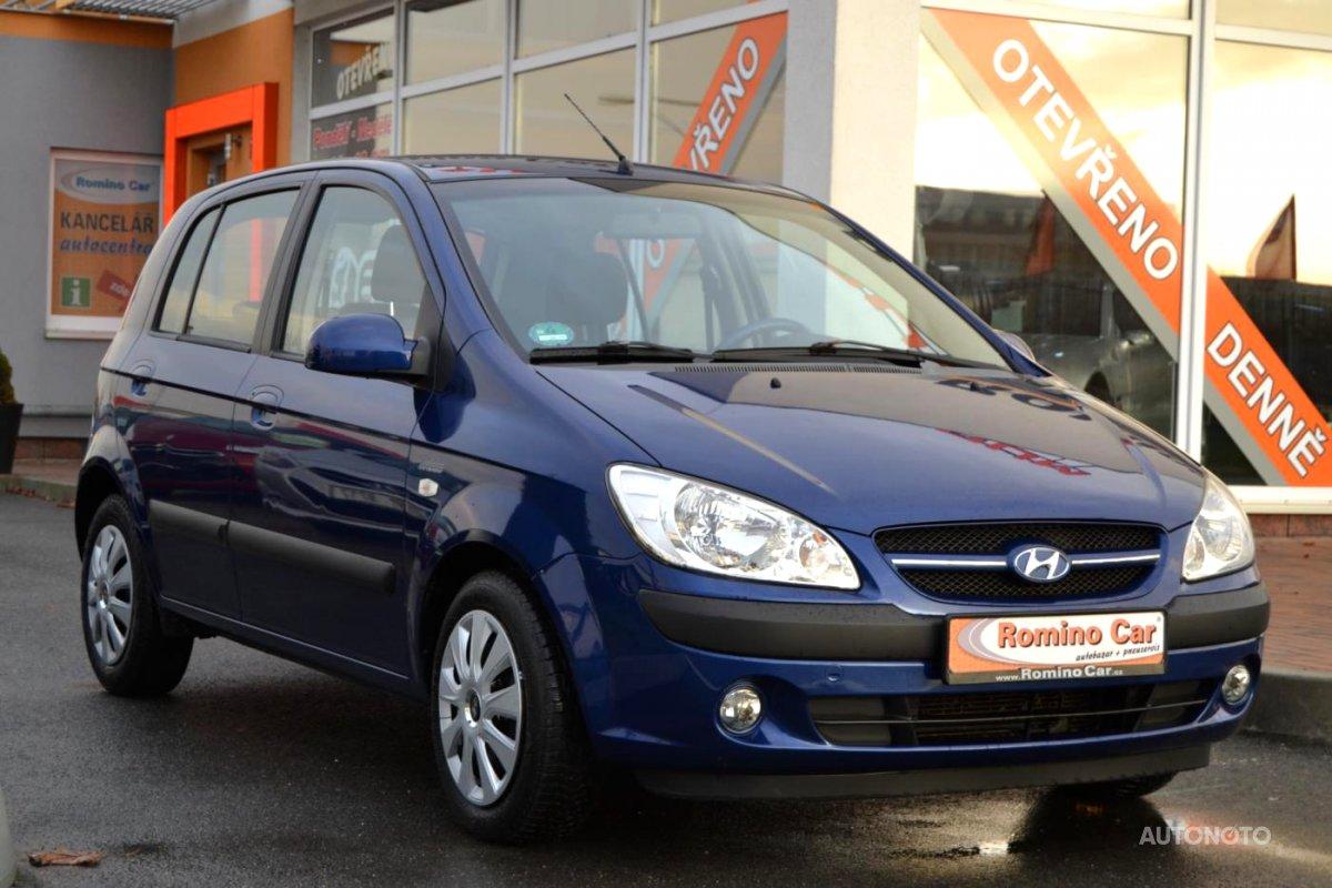Hyundai Getz, 2006 - celkový pohled