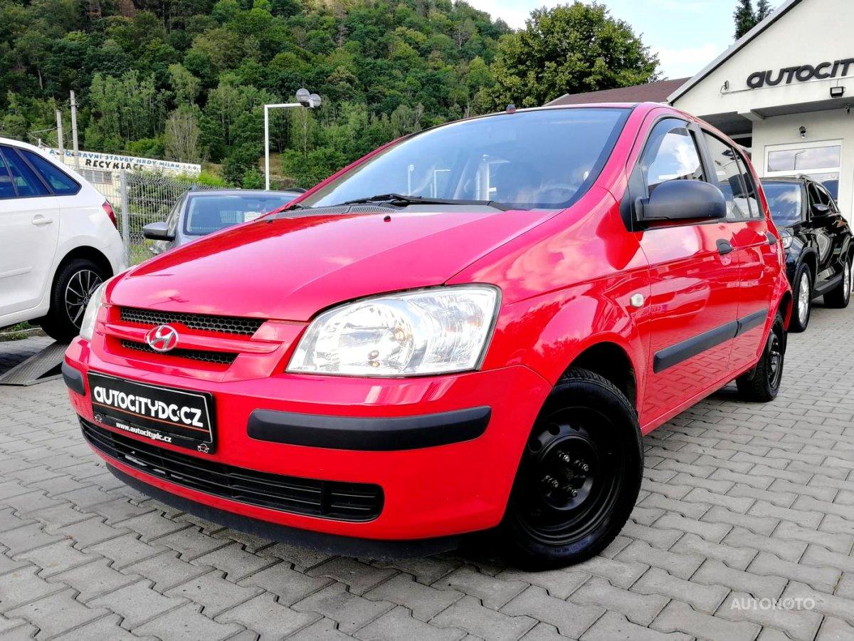 Hyundai Getz, 2005 - celkový pohled