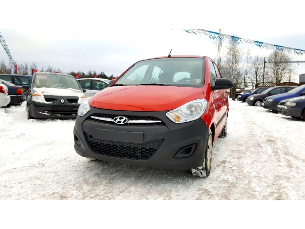 Hyundai i10, 2011 - celkový pohled