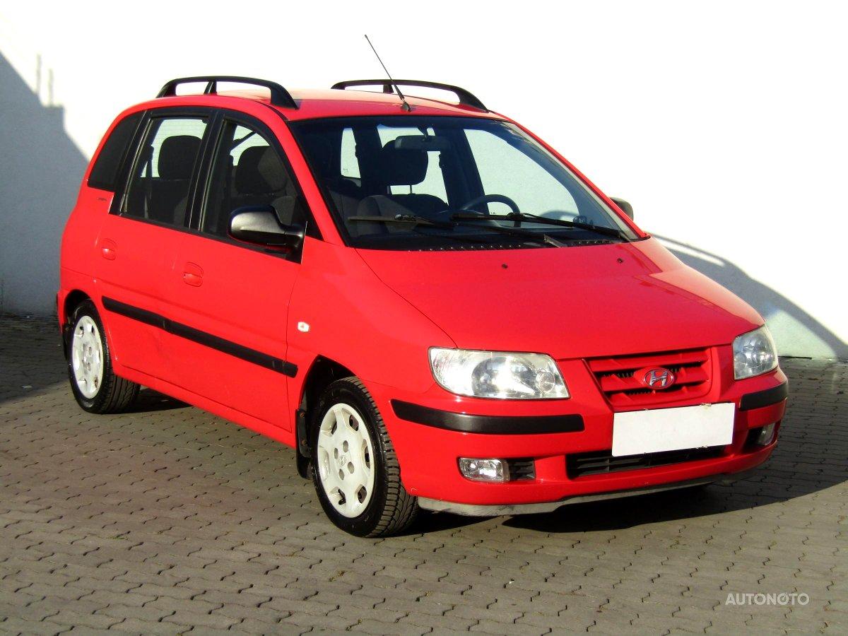 Hyundai Matrix, 2002 - celkový pohled