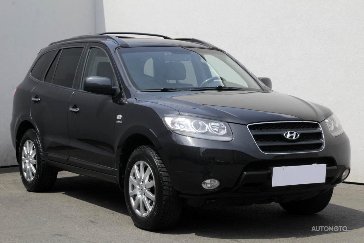 Hyundai Santa Fe, 2009 - celkový pohled
