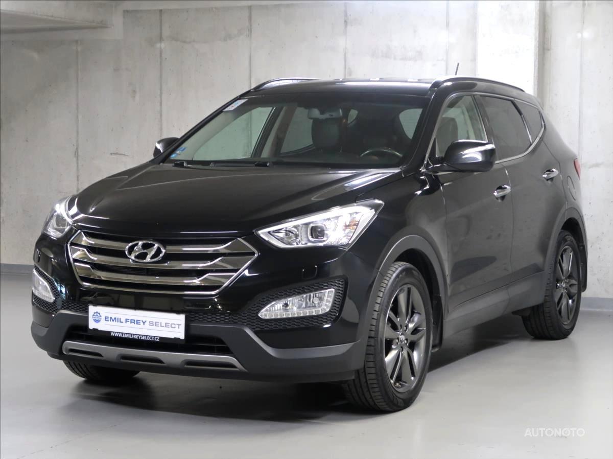 Hyundai Santa Fe, 2013 - celkový pohled