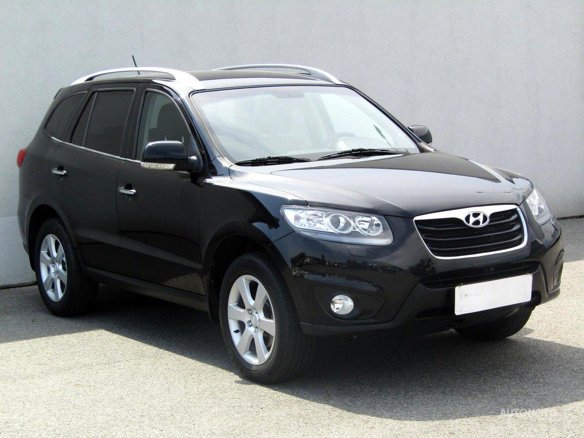 Hyundai Santa Fe, 2012 - celkový pohled