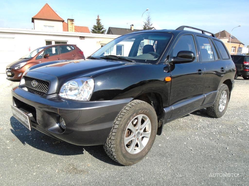 Hyundai Santa Fe, 2001 - celkový pohled