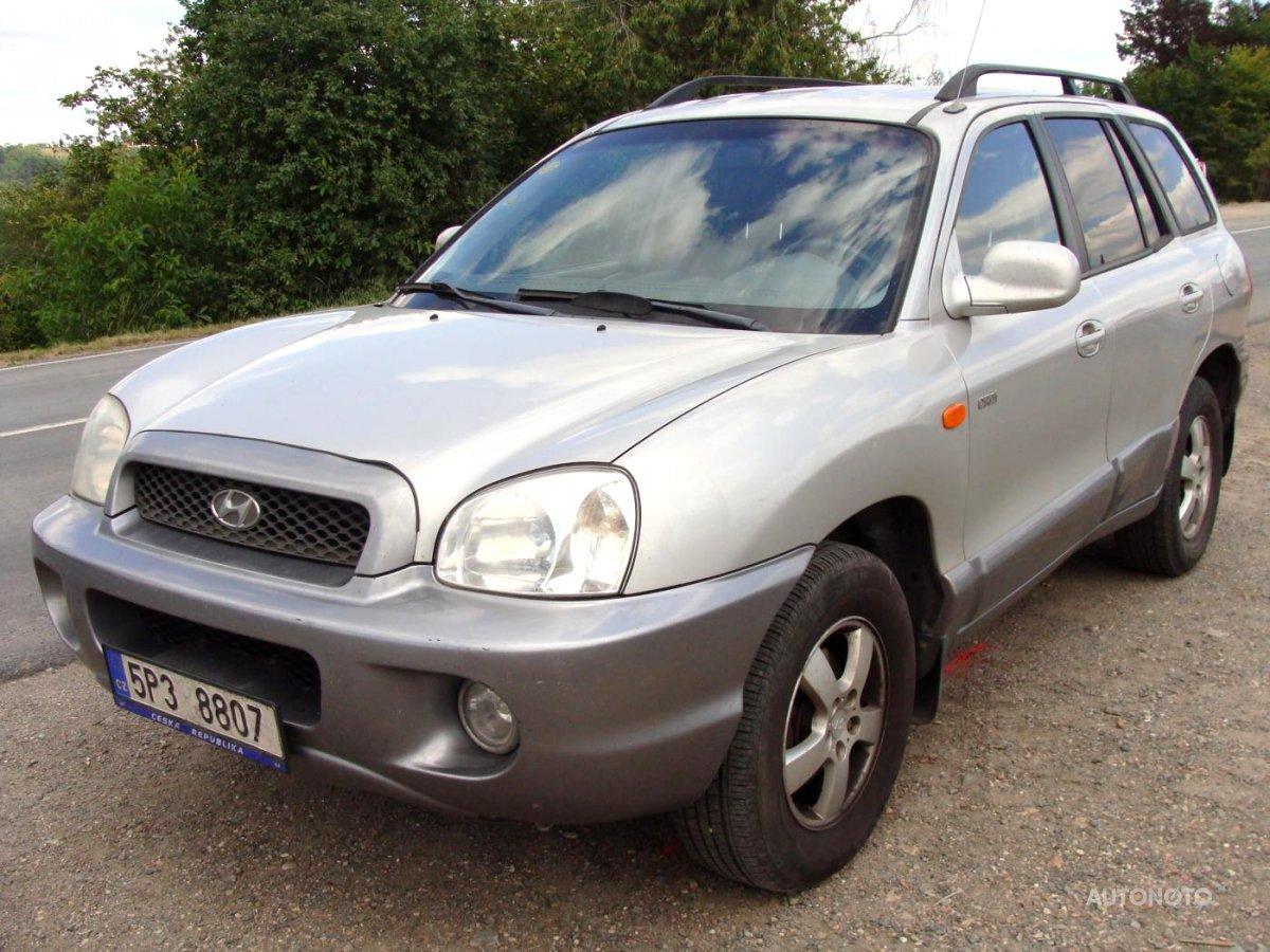 Hyundai Santa Fe, 2004 - celkový pohled