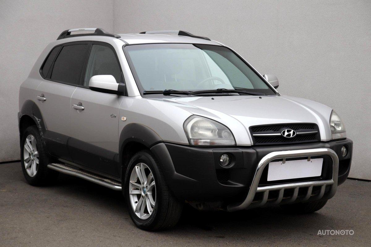 Hyundai Tucson, 2005 - celkový pohled