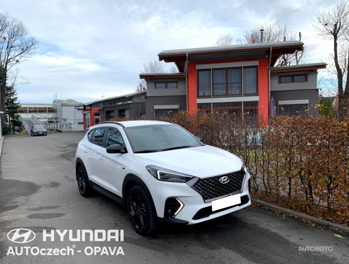 Hyundai Tucson, 2019 - celkový pohled