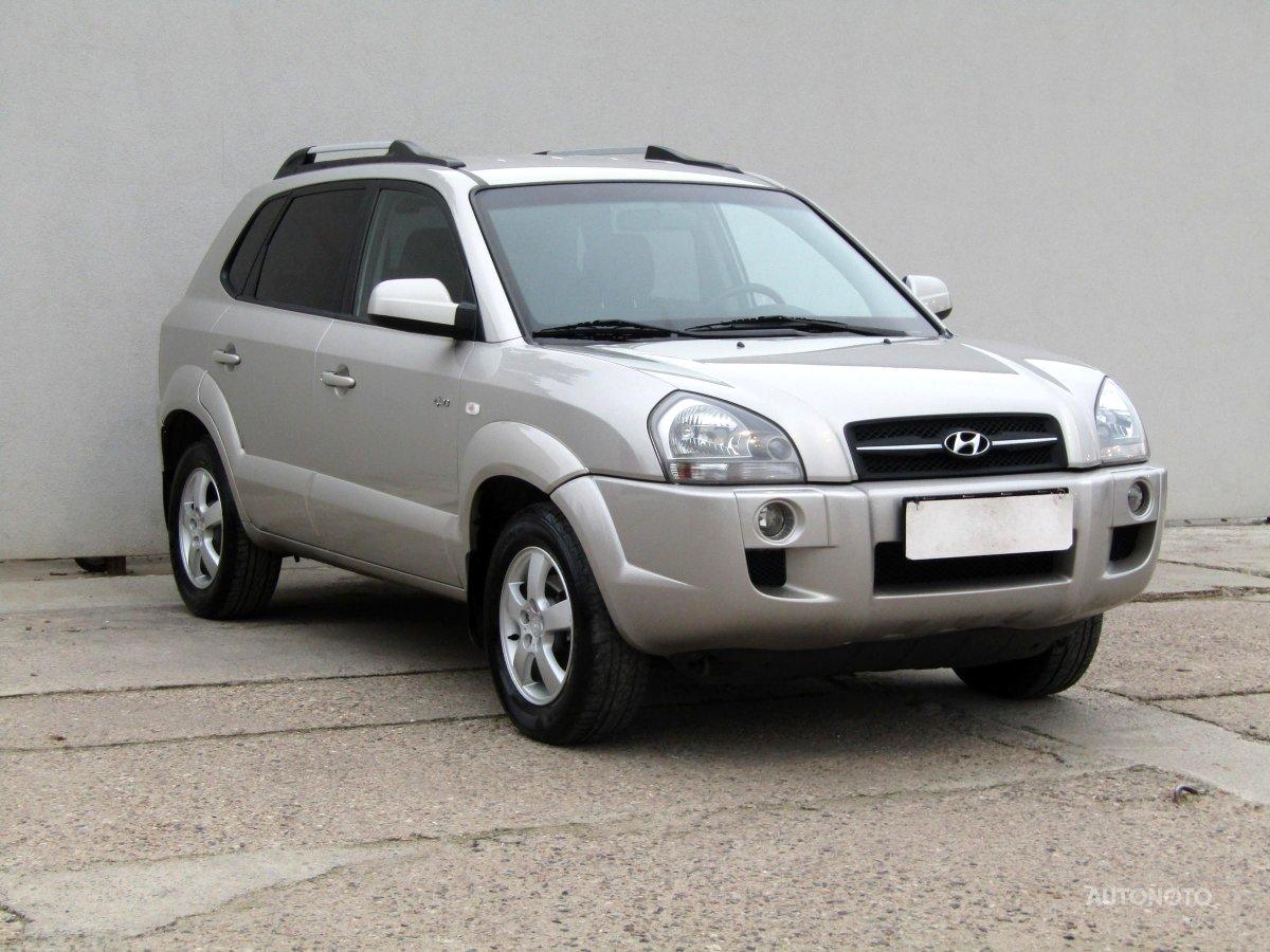 Hyundai Tucson, 2007 - celkový pohled