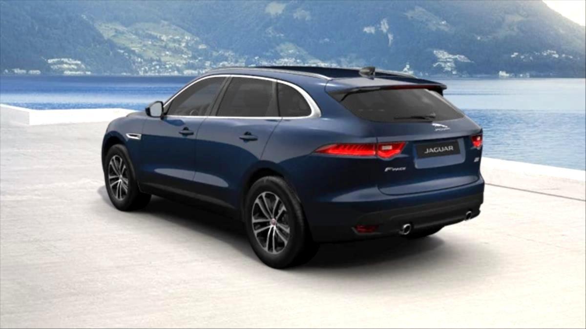 Jaguar F-Pace, 2019 - celkový pohled