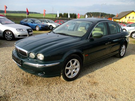 Jaguar X-Type, 2002