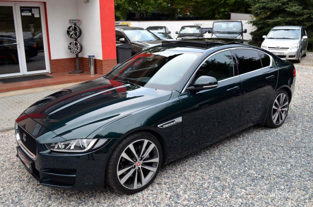Jaguar XE, 2016 - celkový pohled