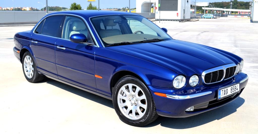 Jaguar XJ, 2003 - celkový pohled