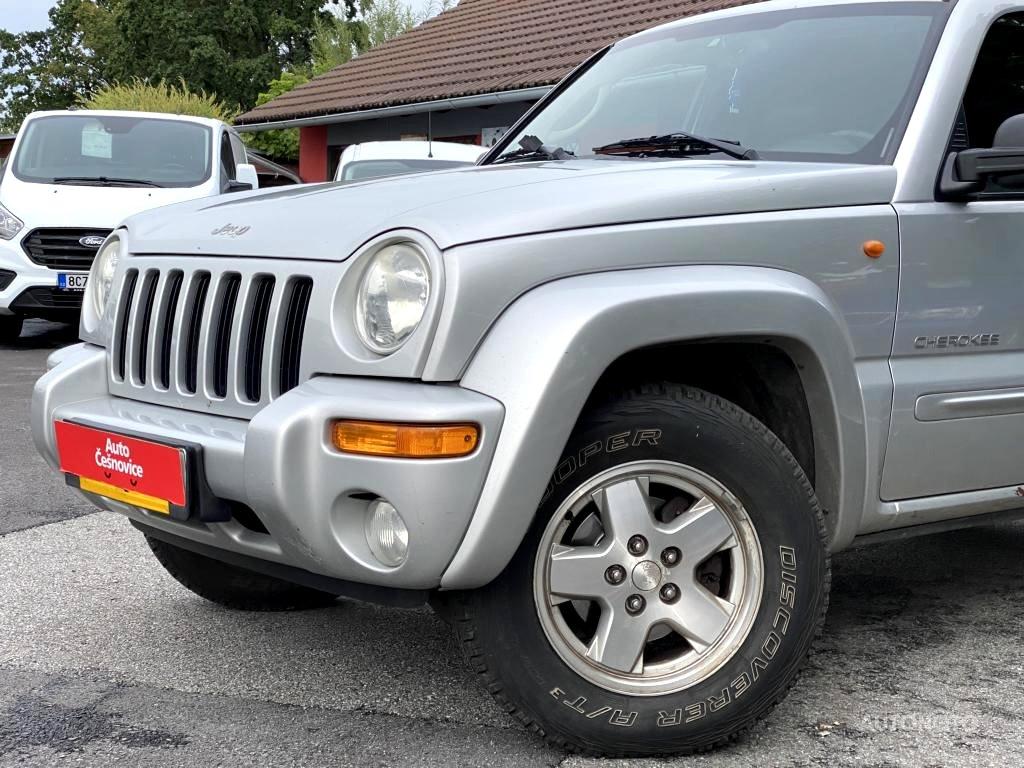 Jeep Cherokee, 2004 - celkový pohled