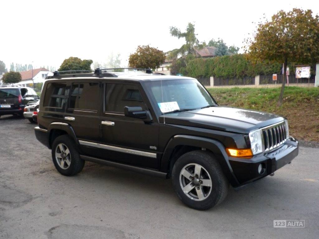 Jeep Commander, 2006 - celkový pohled