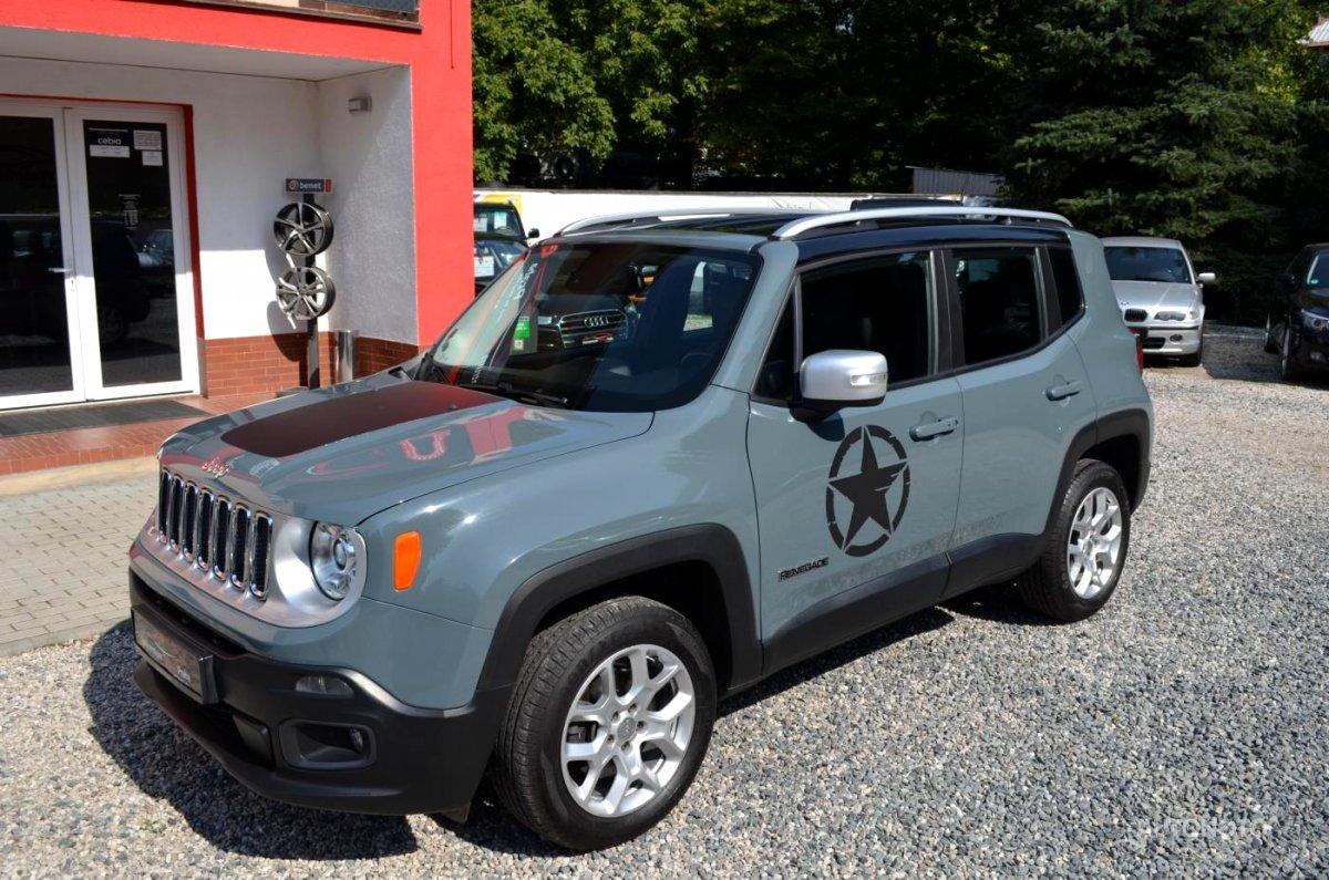 Jeep Renegade, 2015 - celkový pohled