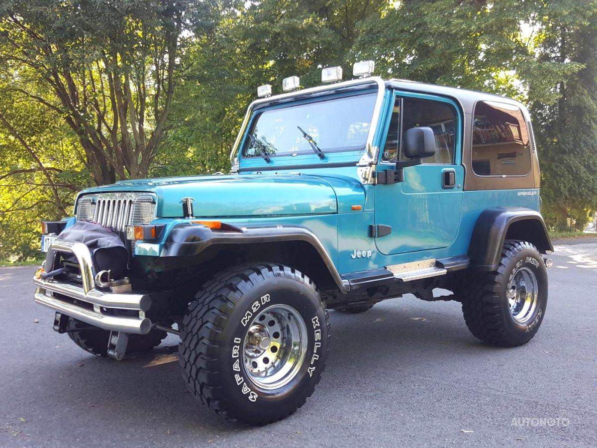 Jeep Wrangler, 1995 - celkový pohled