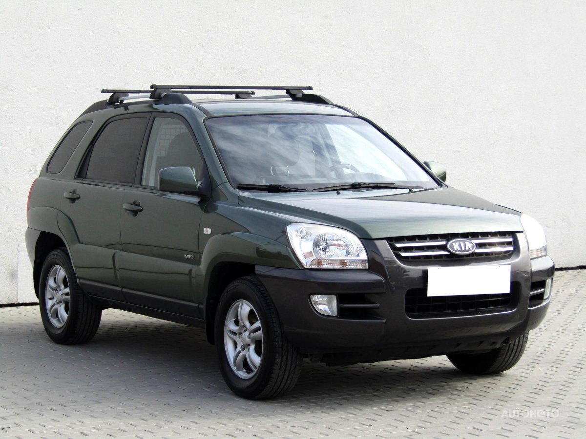Kia Sportage, 2006 - celkový pohled