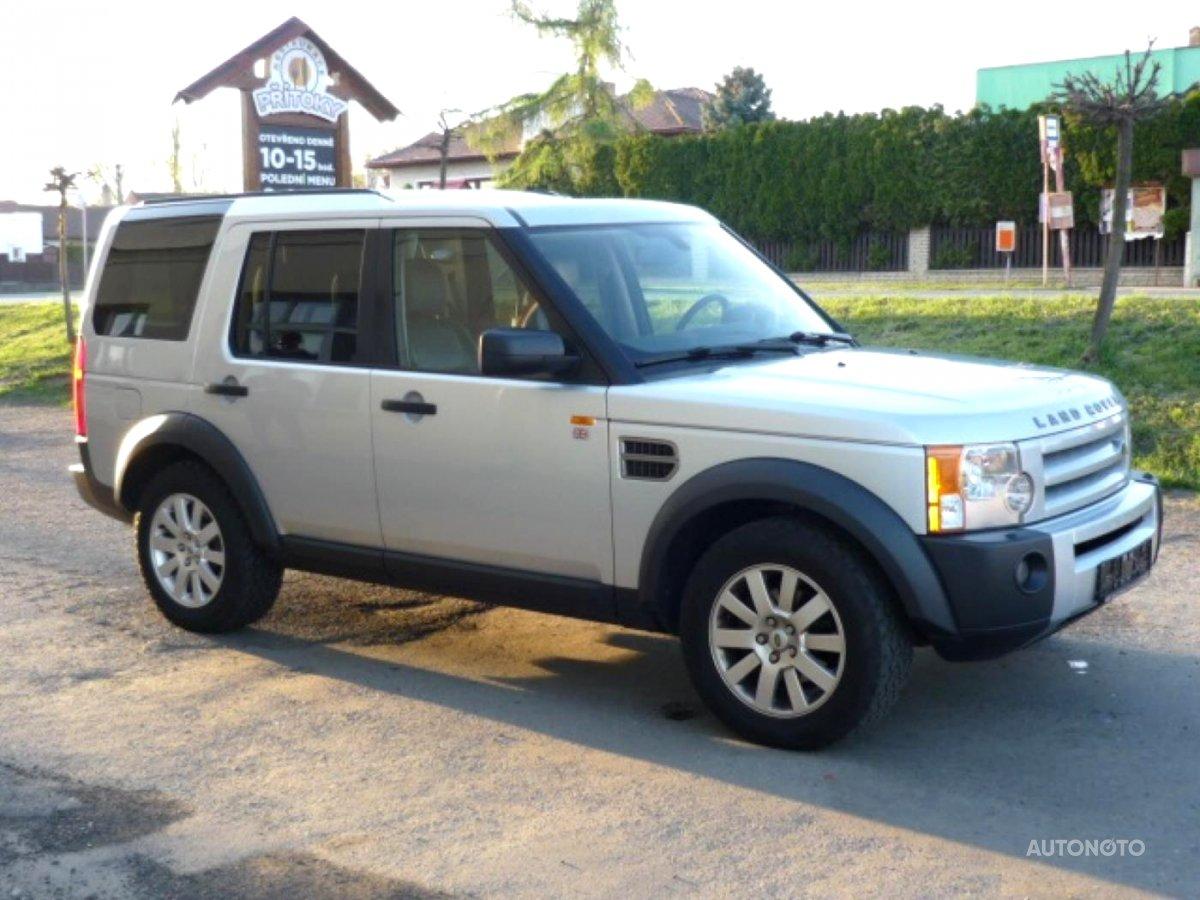 Land Rover Discovery, 2006 - celkový pohled