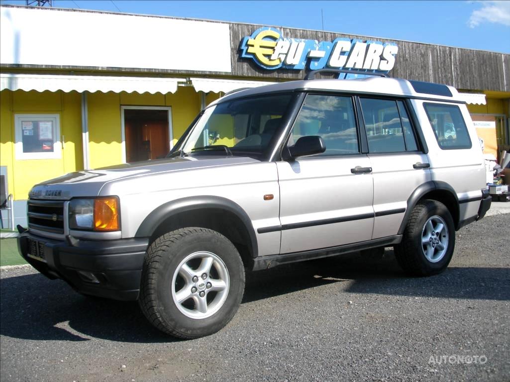 Land Rover Discovery, 2001 - celkový pohled