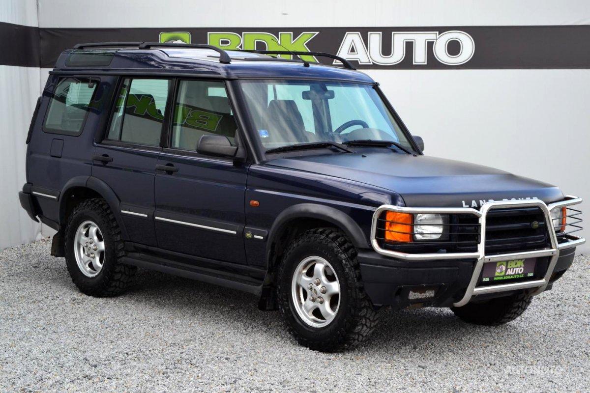 Land Rover Discovery, 2000 - celkový pohled