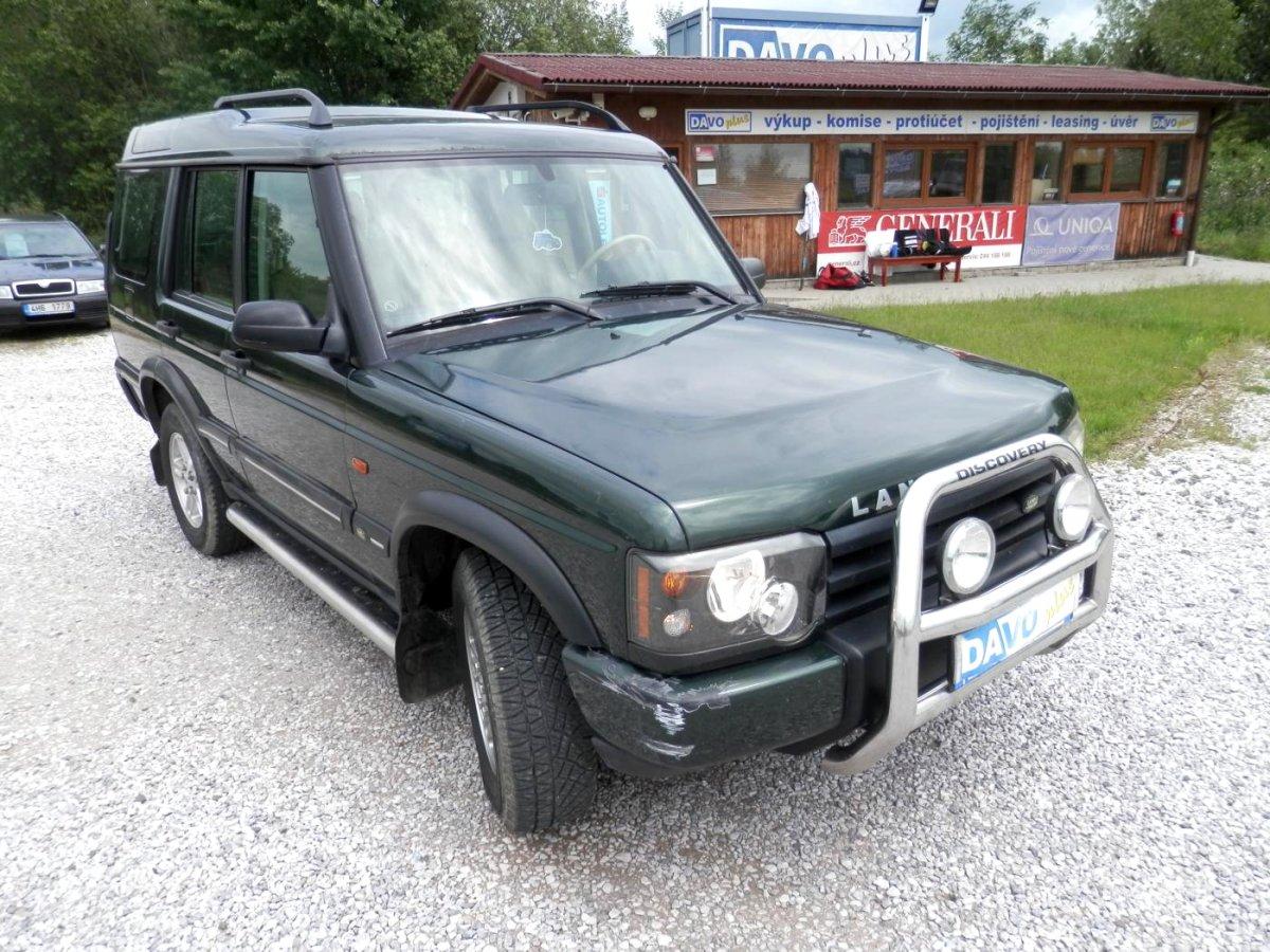 Land Rover Discovery, 2002 - celkový pohled