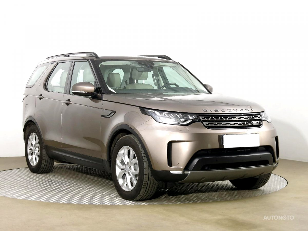 Land Rover Discovery, 2018 - celkový pohled