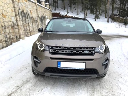 Land Rover Discovery, 2016