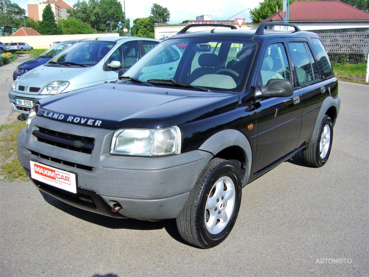 Land Rover Freelander, 2001 - celkový pohled