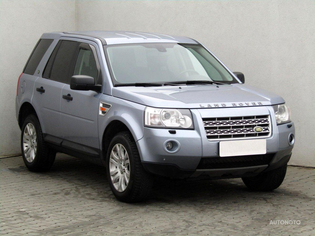 Land Rover Freelander, 2008 - celkový pohled