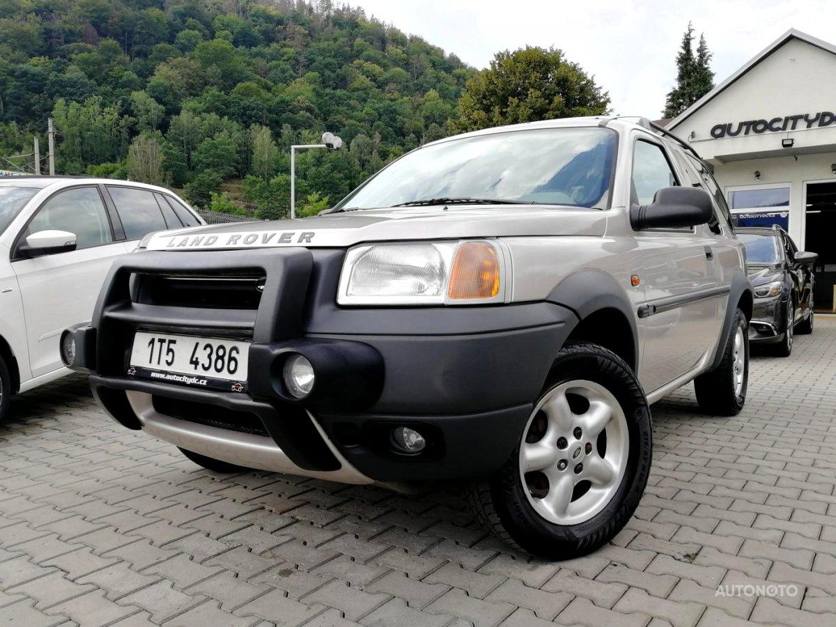 Land Rover Freelander, 2000 - celkový pohled