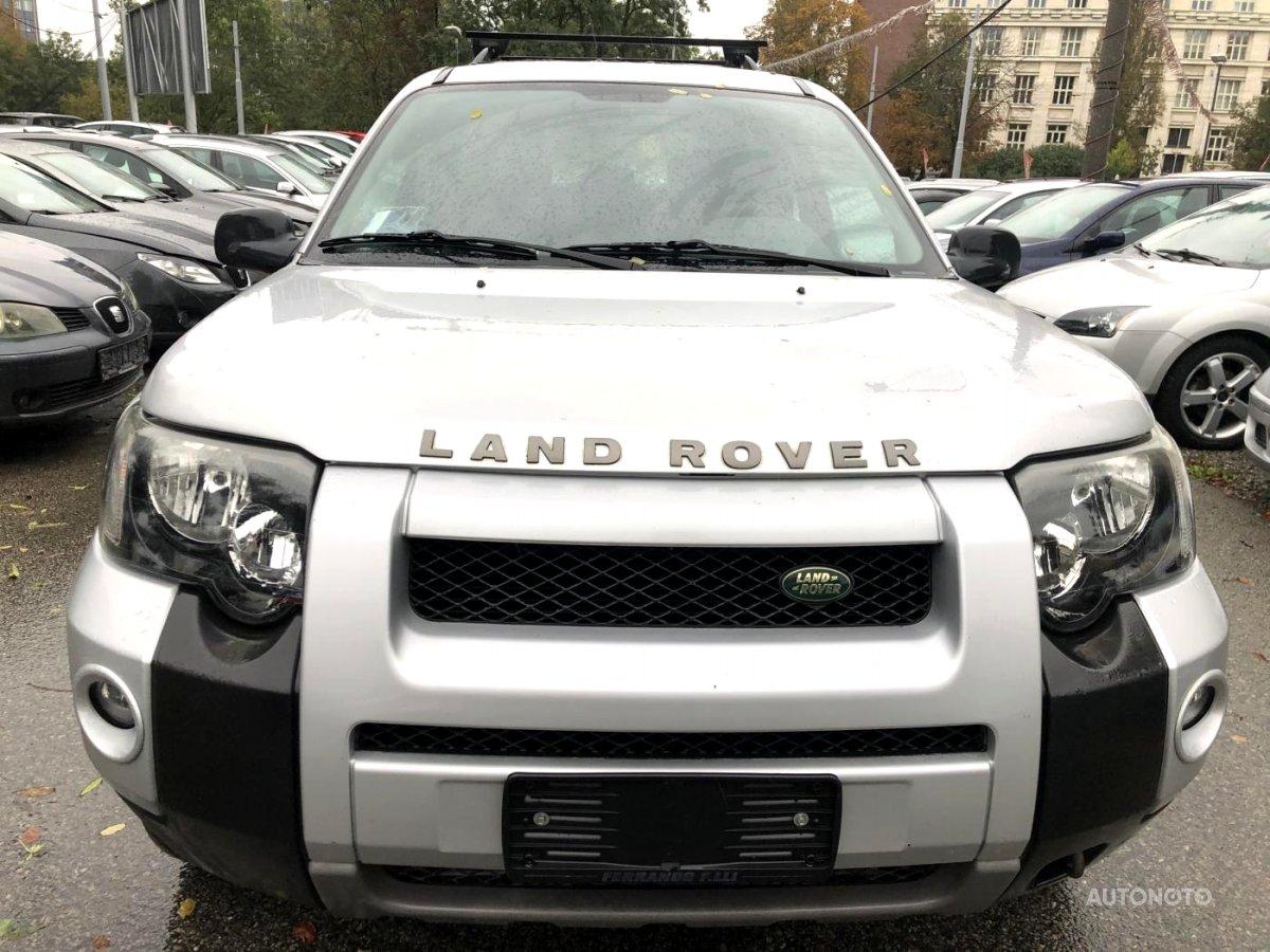 Land Rover Freelander, 2004 - celkový pohled