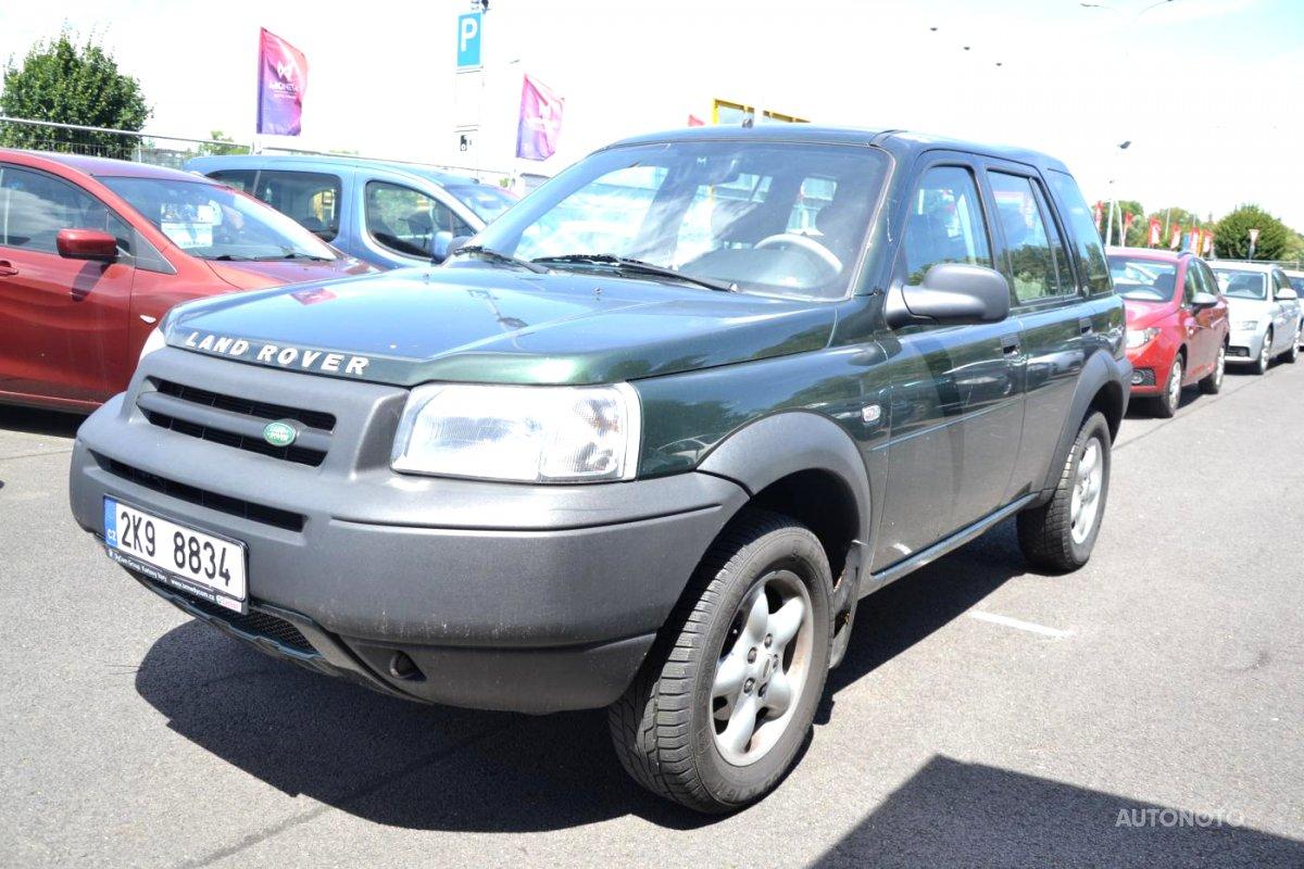 Land Rover Freelander, 2003 - celkový pohled